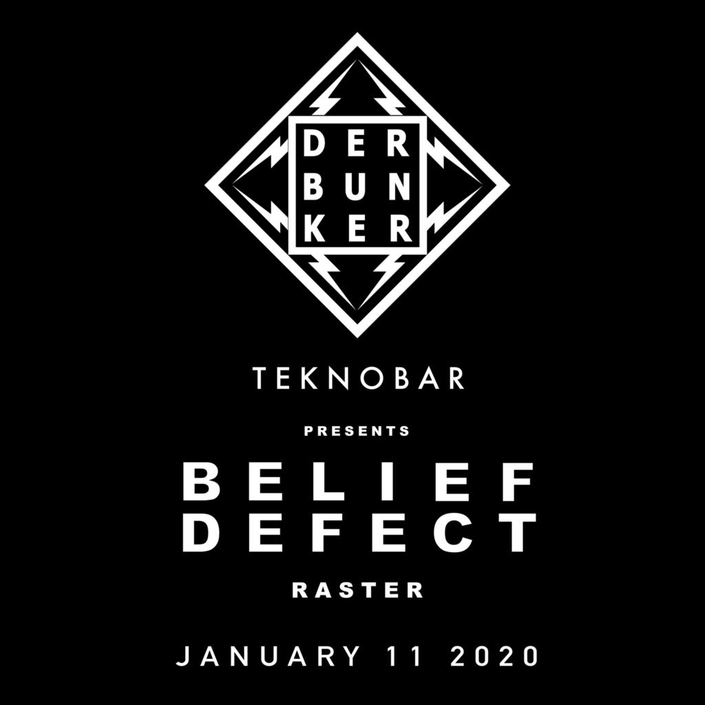 Belief Defect - Raster - Der Bunker